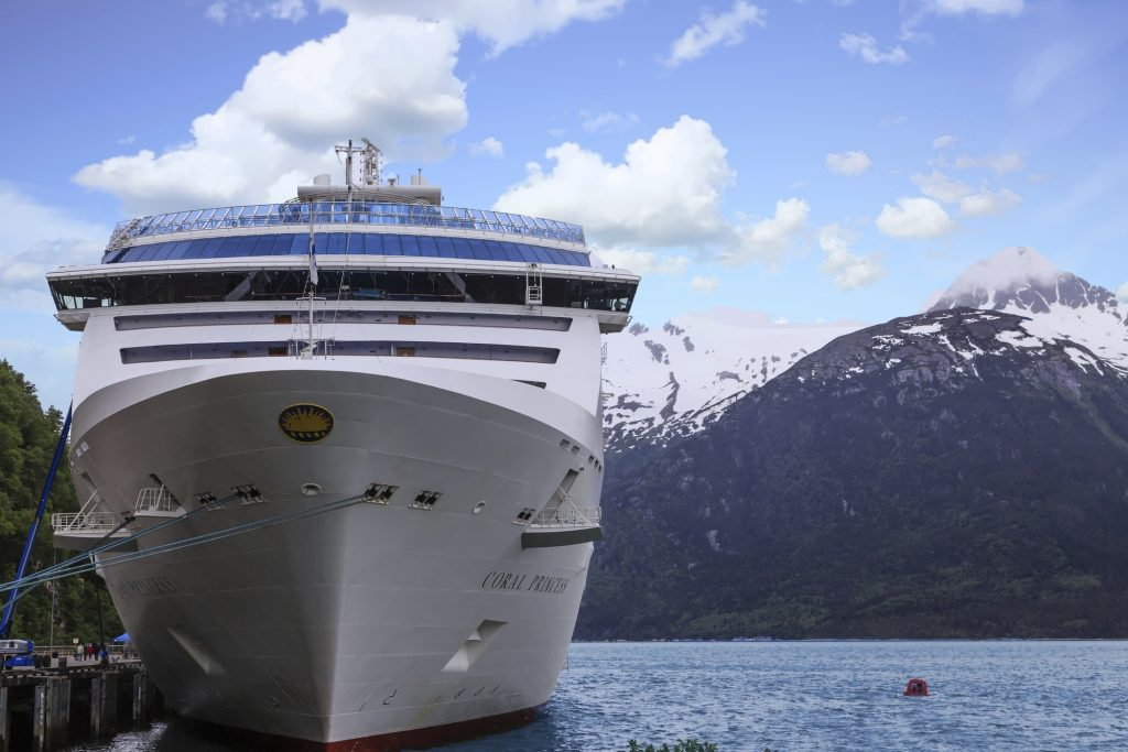 Alaskan cruise, Princess cruise lines