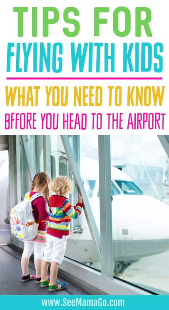 Tips for flying with Kids. TSA Guidelines for taking kids on an airplane. What you need to know before you fly with kids