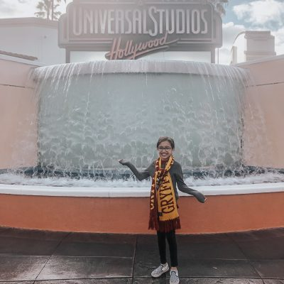 visiting universal studios Hollywood