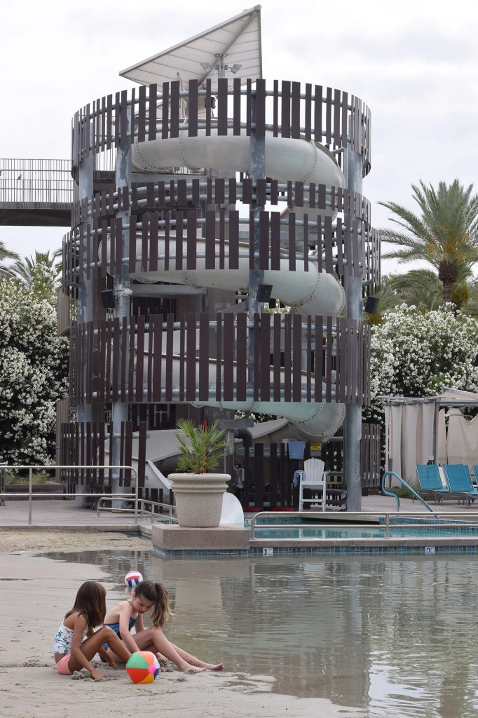 waterslide at Hyatt Regency Scottsdale