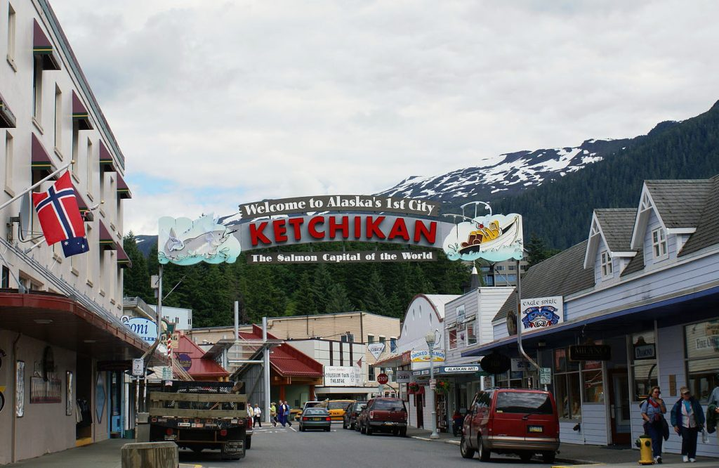 ketchikan sign