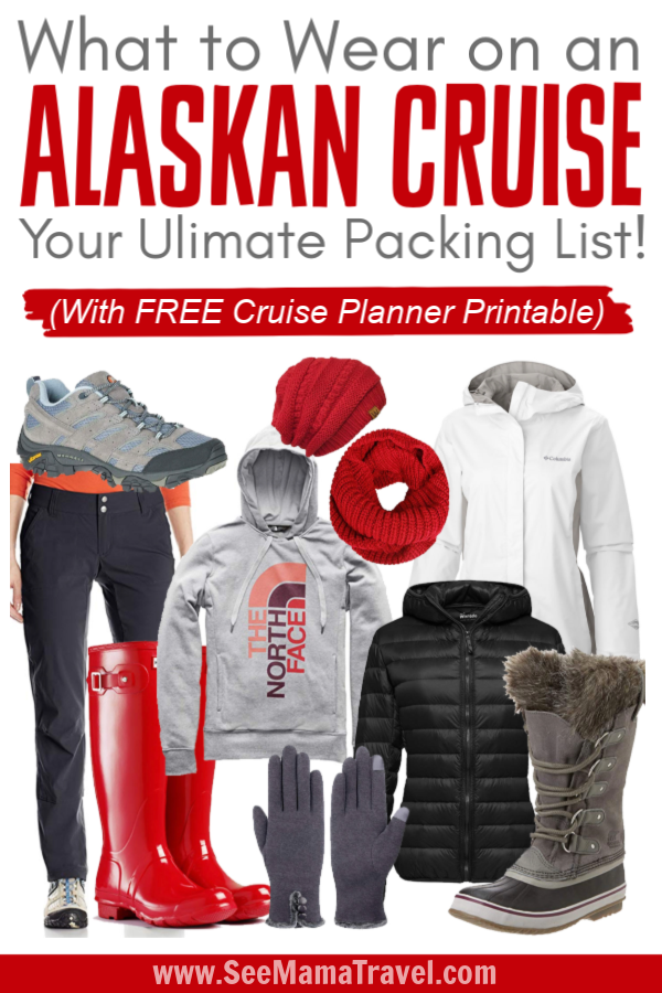 photograph relating to Printable Packing List for Alaska Cruise known as What in the direction of Use upon an Alaskan Cruise - Look at Mama Push