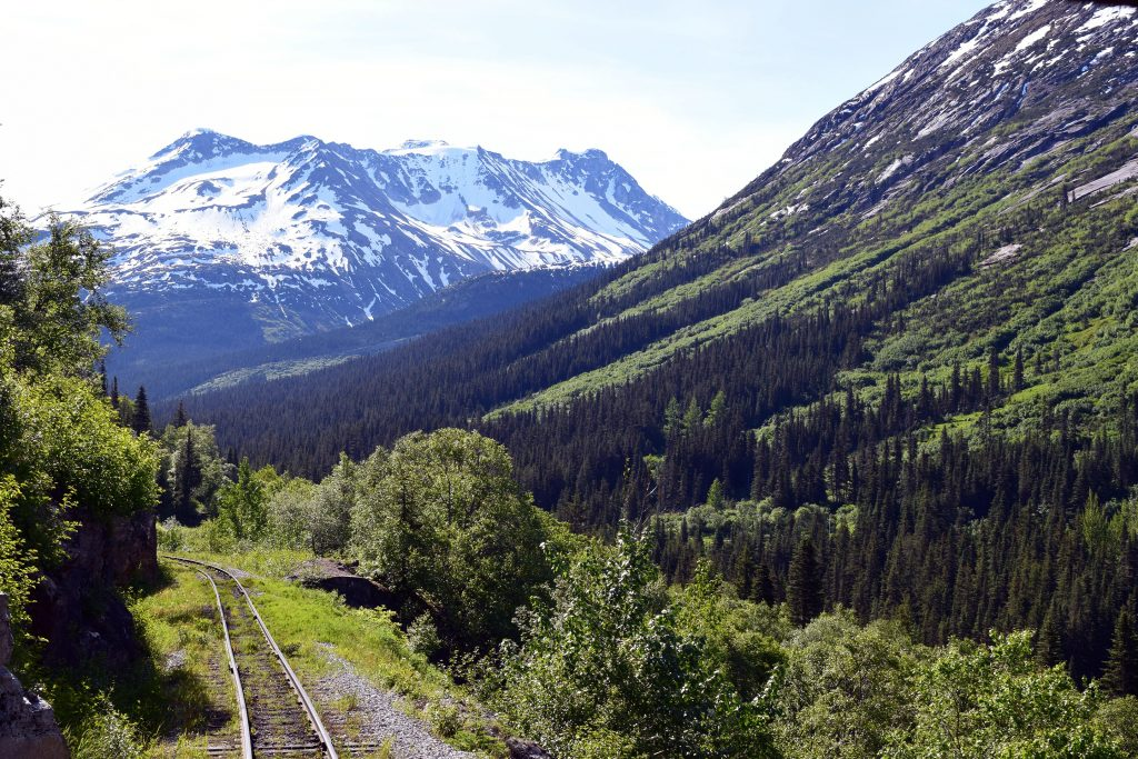 white pass railroad, Skagway, alaska
