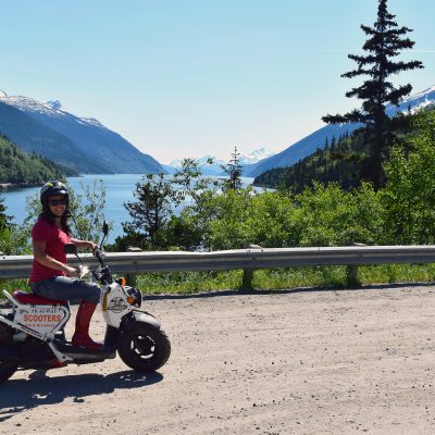 Skagway scooters, Alaska, what to do
