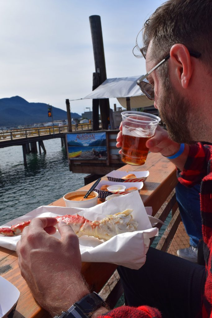 tracy's king crab shack, juneau, where to eat