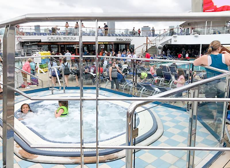 hot tub on cruise