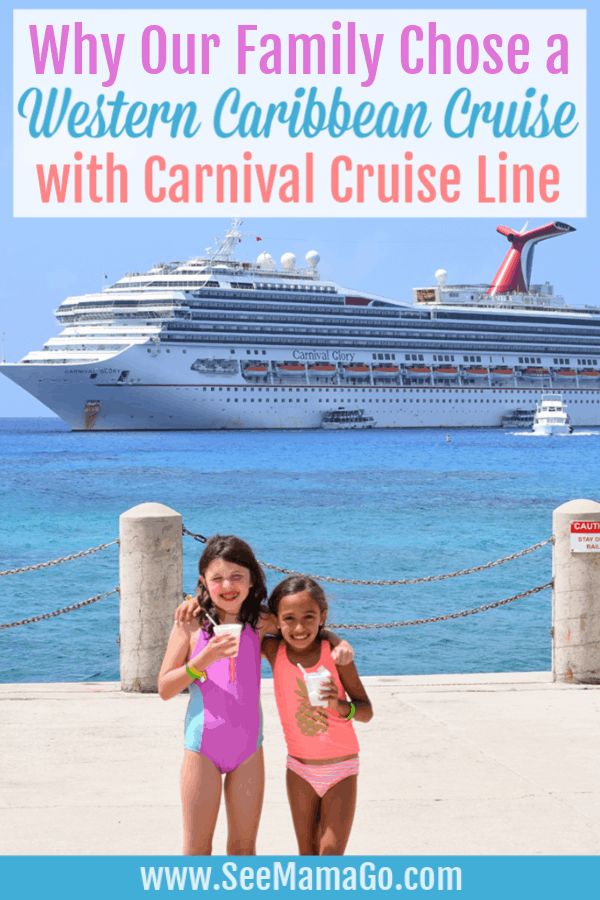 Western Caribbean cruise with carnival cruise line
