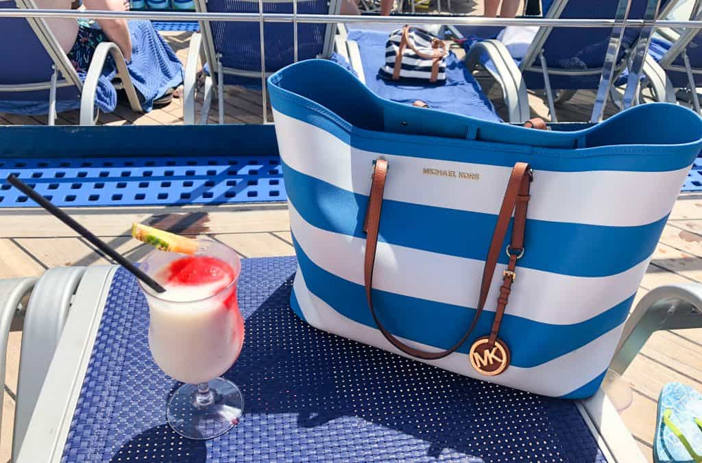 cruise ship dining drink guide