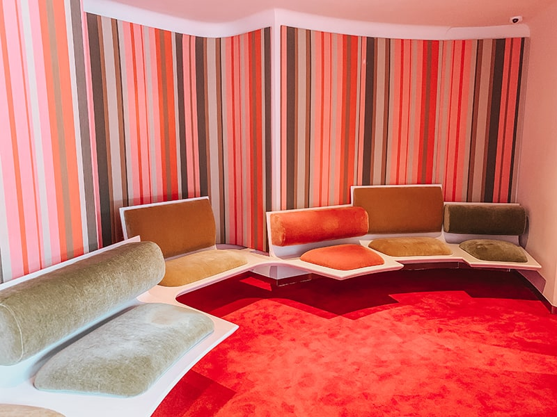 the pope room at the twa hotel
