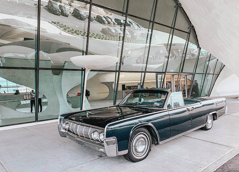 Front entrance to the TWA Hotel