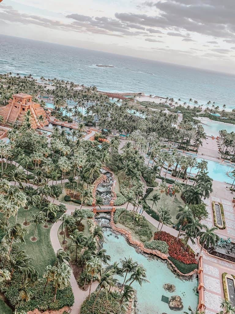 View from the Atlantis Royal Towers