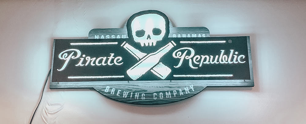 Pirate Brewing Company,  Bahamas