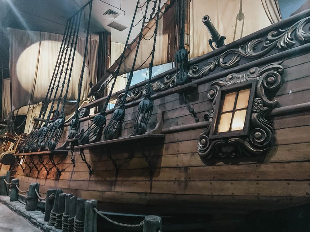 The Pirates of Nassau Museum, Nassau