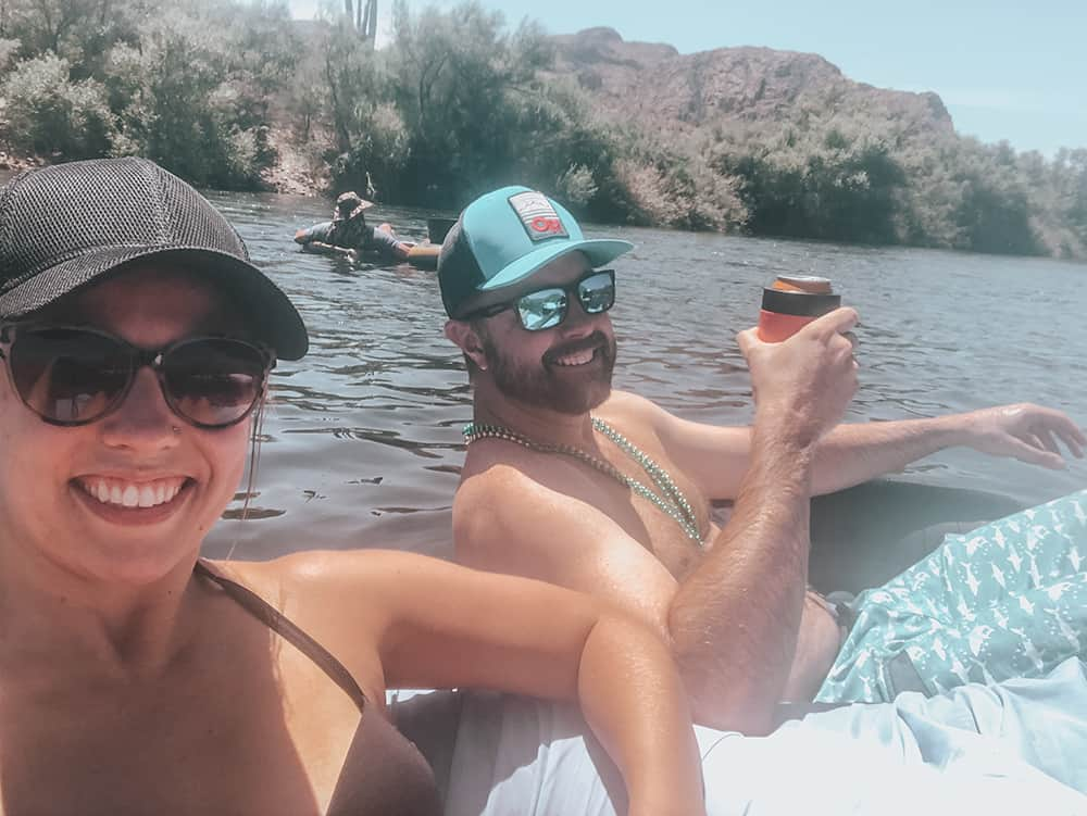 Arizona's Salt River Tubing