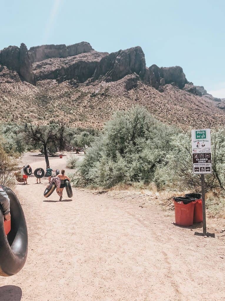 Salt River Tubing entrance