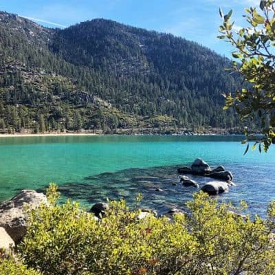 North Lake Tahoe in the fall